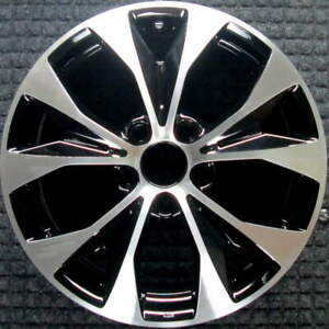 Honda Civic Machined W Black Pockets 17 Inch Oem Wheel 2012 To 2013