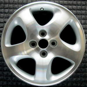 Mazda Protege Machined 15 Inch Oem Wheel 1999 To 2003