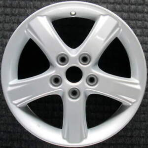 Mazda Protege All Silver 16 Inch Oem Wheel 2002 To 2003