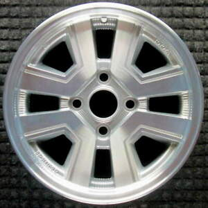 Toyota Supra Machined 15 Inch Oem Wheel 1985 To 1986