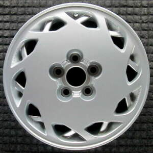 Toyota Supra Right All Silver 16 Inch Oem Wheel 1986 To 1990