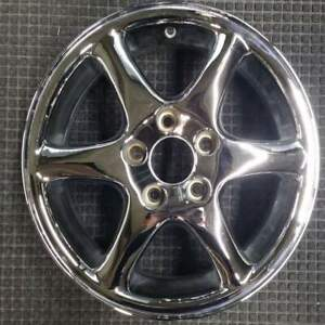 Volvo C70 Chrome 15 Inch Oem Chrome Wheel 1998 To 2000