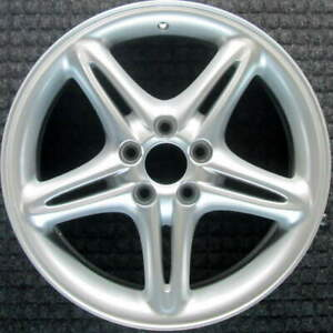 Volvo C70 All Silver 17 Inch Oem Wheel 1998 To 2003
