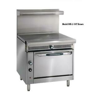 Imperial Ihr 1ft 36 In French Top Diamond Series Gas Range W Standard Oven
