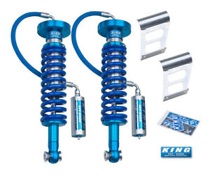 King Shocks 09 13 Ford F150 2wd 4wd Front 2 5 Dia Remote Reservoir Coilover
