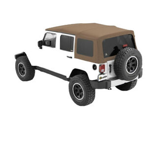 Soft Top Tan For Jeep Wrangler Sahara 2020 Unlimited Brand New