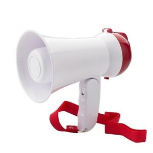 5 Core Mini Portable Compact Foldable Megaphone Bullhorn Loud Amplifier Hw 1