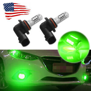 Brilliant Green 9005 9006 Hb3 30 smd Led Bulbs Car Fog Lights High Power 2pcs