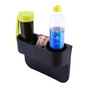 1 car Seat Cup Double Hole Holder Drink Beverage Coffee Auto Truck Bottle Mount