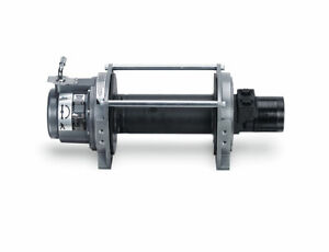 Warn 30281 Series 9 Hydraulic Industrial Winch Fits 10 11 Sierra 3500 f 250 350