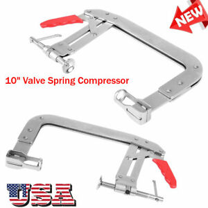 10 Inch Valve Spring Compressor Engine Lifter Springs Retainer Repair Tool Us