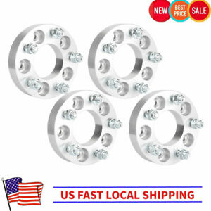 4x 1 25 Thick 5x4 5 To 5x4 75 Wheel Adapters 1 2 x20 Studs 5x114 3 To 5x120