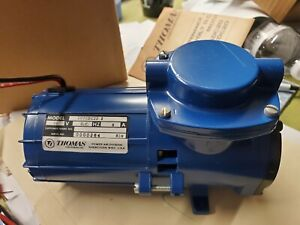 Thomas Model 107cdc20 12 Volt 8 Amp Compressor 2b R 1 1