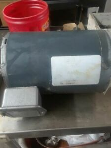 Hobart 3 Hp Motor W Gears Fits Meat Saw 5801 Or 6801