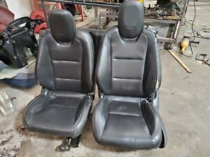 2010 2015 Camaro Gray Leather Seat Set Front Rear Hot Rod Lsx Swap Used