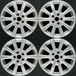 Buick Lucerne All Silver 17 Oem Wheel Set 2009 To 2011