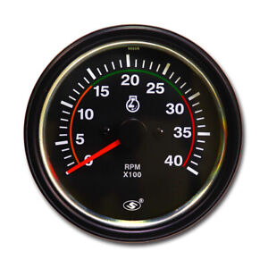 Universal Diesel Tachometer For Alternator W Terminal 3 3 8 4000 Rpm