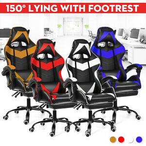 Computer Gaming Chair High back Executive Swivel Racing Office Ergonomic Chairs