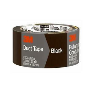 Duct Tape Black 1 88 in X 20 yd