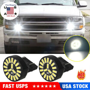 For Chevrolet 3157 Led Driving Daytime Running Turn Signal Parking Light Bulbs