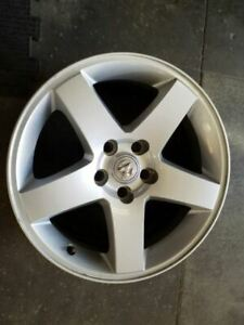 2008 2010 Dodge Charger Wheel Rim 17x7 Alloy 5 Spoke Without Indented Spokes