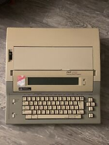 Smith Corona Pwp 50d Personable Word Processor Electronic Typewriter Untested