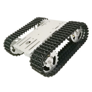 T101 Smart Robot Chassis Tank Followed Car Platform 12v With Code Wheel