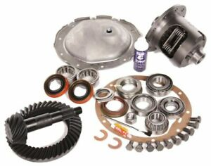 65 71 Gm 8 2 Chevy 10 Bolt Rear 3 73 Ring And Pinion Posi Mega Elite Gear Pkg
