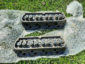 1987 1995 Ford Mustang 5 0l Ford Racing Gt40p iron Cylinder Heads 302 Cobra Gt