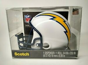 3m Scotch Tape Dispenser La Chargers Football Helmet