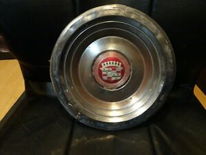 1957 1958 Cadillac Eldorado Brougham Wheel Center Cap Oem Used Rare