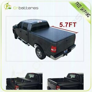 Roll up Tonneau Cover Fit For 2012 2017 Dodge Ram 1500 Crew Cab 5 7ft Short Bed