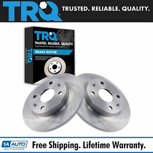 Trq Driver Passenger Side Rear Brake Rotor Pair Set Of 2 For Mazda Miata Brand