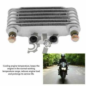 85ml Motorcycle Oil Cooler Engine Oil Cooling Radiator System For Gy6 100 150cc