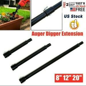 Extension Auger 3 Size 20 12 8 Long 3 4 Shaft Gas Post Hole Digger Earth Us