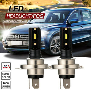 H4 9003 Led Headlight Fog Light Bulbs Car Driving Lamp Drl White High Power 110w