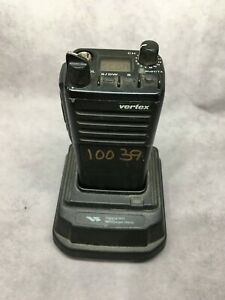 Vertex Vx 510l portable Handheld Two way Radio With Rapid Charger Battery