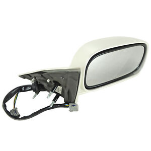 25823078 Side View Mirror Rh Right Painted White 2006 10 Cadillac Dts