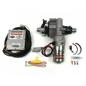 Unisteer Perf Products Universal 360w Electra Steer Kit Plain Motor Pn 8052780