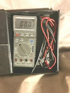 Vtg Radio Shack 22 168a Digital Multimeter With Computer Interface