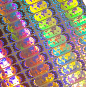 Warranty Void If Removed Tamper Proof Security Sticker serial Numbers avr019