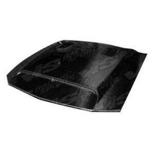 Vis Racing Carbon Fiber Hood Gt 500 Style For Ford Mustang 2dr 94 98