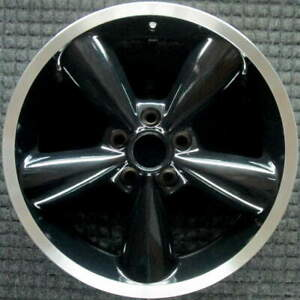 Ford Mustang Machined Lip W Black Spokes 18 Inch Oem Wheel 2006 To 2009