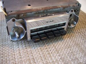 1967 1972 Chevy Working Radio C10 Truck Am Gm Delco 72 67 67 72 Pickup 69