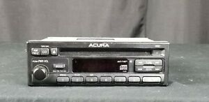 97 99 Acura Integra Cl Radio Am fm Cd Player 1xj0 Oem Factory 39100 st7 a500 76
