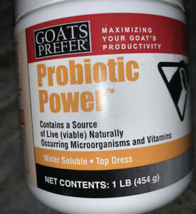 Goats Prefer Probiotic Power Top Dress Water Soluble 15 3 Oz