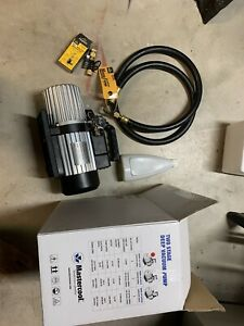 Mastercool 90066 2v 110 b 6 Cfm 2 Stage Vacuum Pump With Hose Core Removal Tool