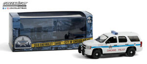 Greenlight 143 Cpd Chicago Police Department 2010 Chevrolet Tahoe Suv 86183