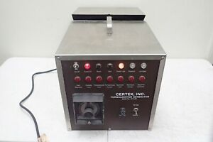 Certek Model 1414 Rh Formaldehyde Generator Neutralizer