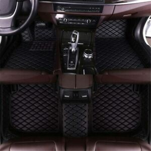 Muchkey Car Floor Mats For Chevrolet Tahoe 2015 2019 Full Coverage Liners Black